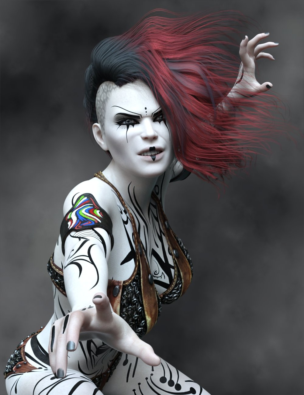 Mairin for Genesis 8 Female by: Dax Avalange, 3D Models by Daz 3D