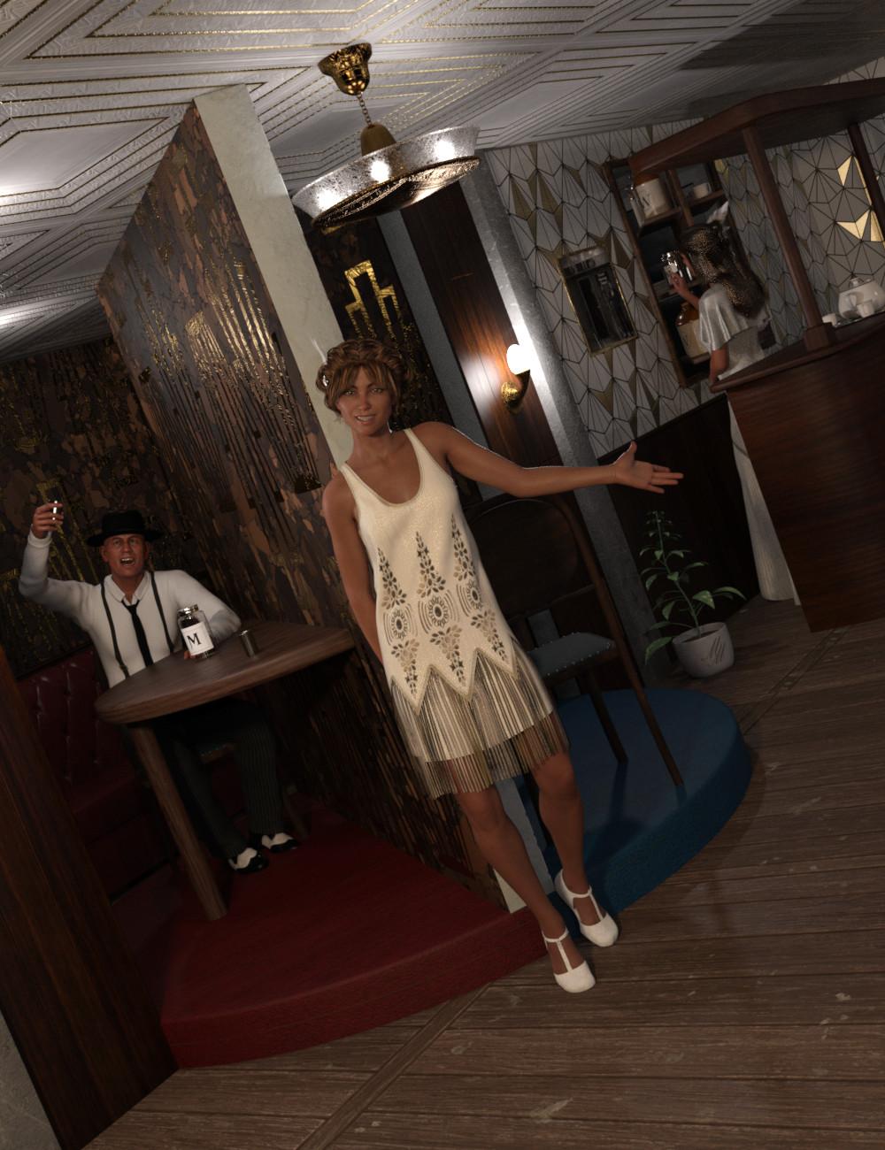 Transforming Speakeasy by: Silent Winter, 3D Models by Daz 3D