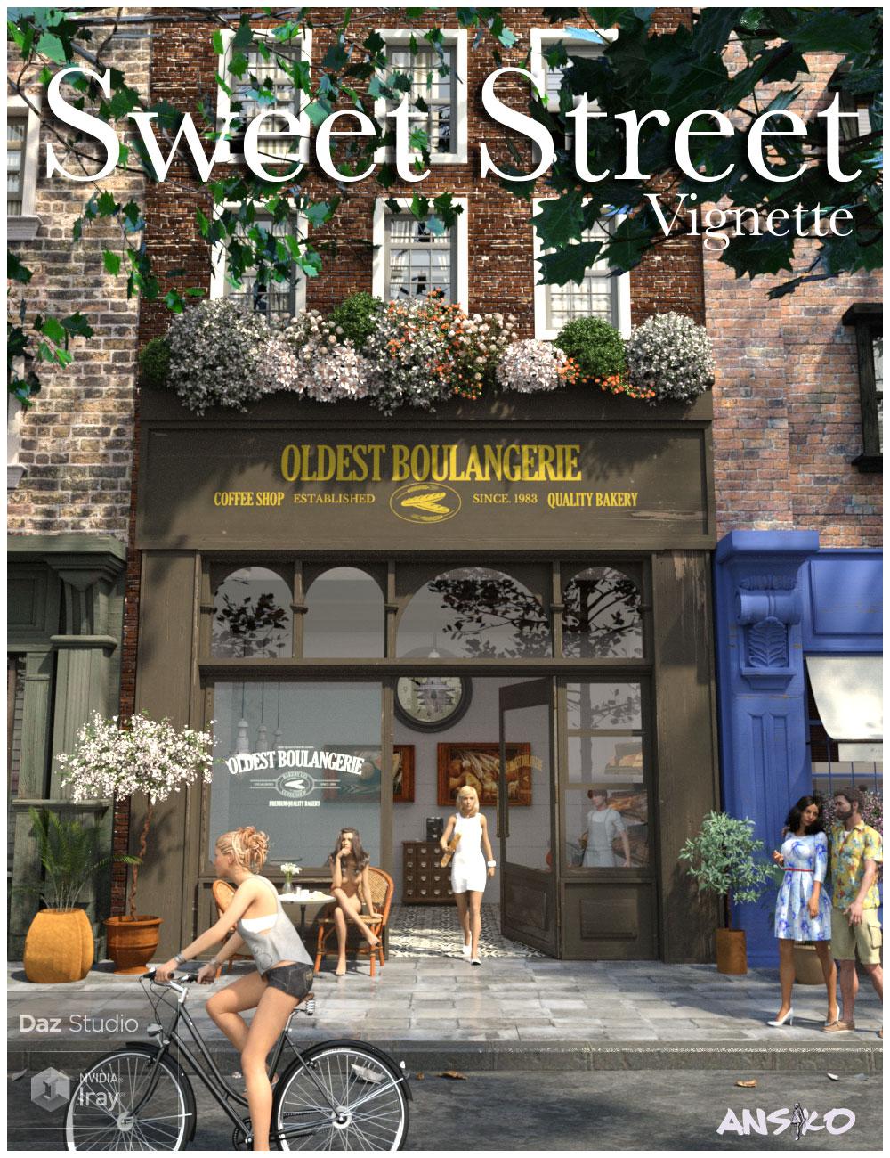 Sweet Street by: Ansiko, 3D Models by Daz 3D