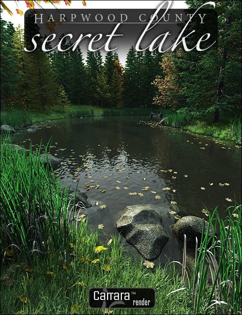 Secret Lake by: HowieFarkes, 3D Models by Daz 3D