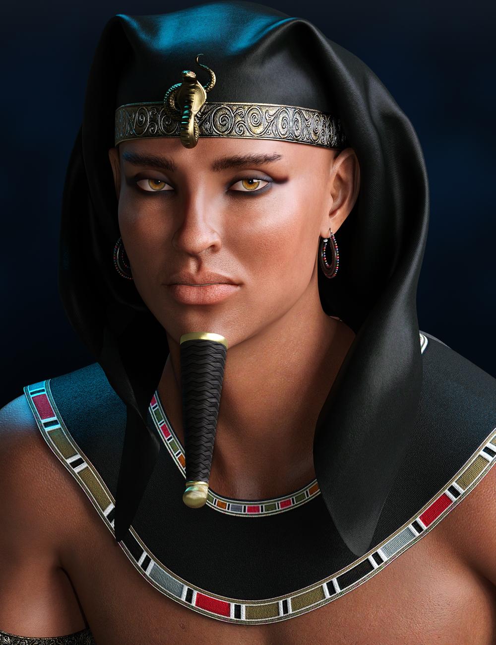 Mst Akhenaten HD for Genesis 8 Male by: Mstene, 3D Models by Daz 3D