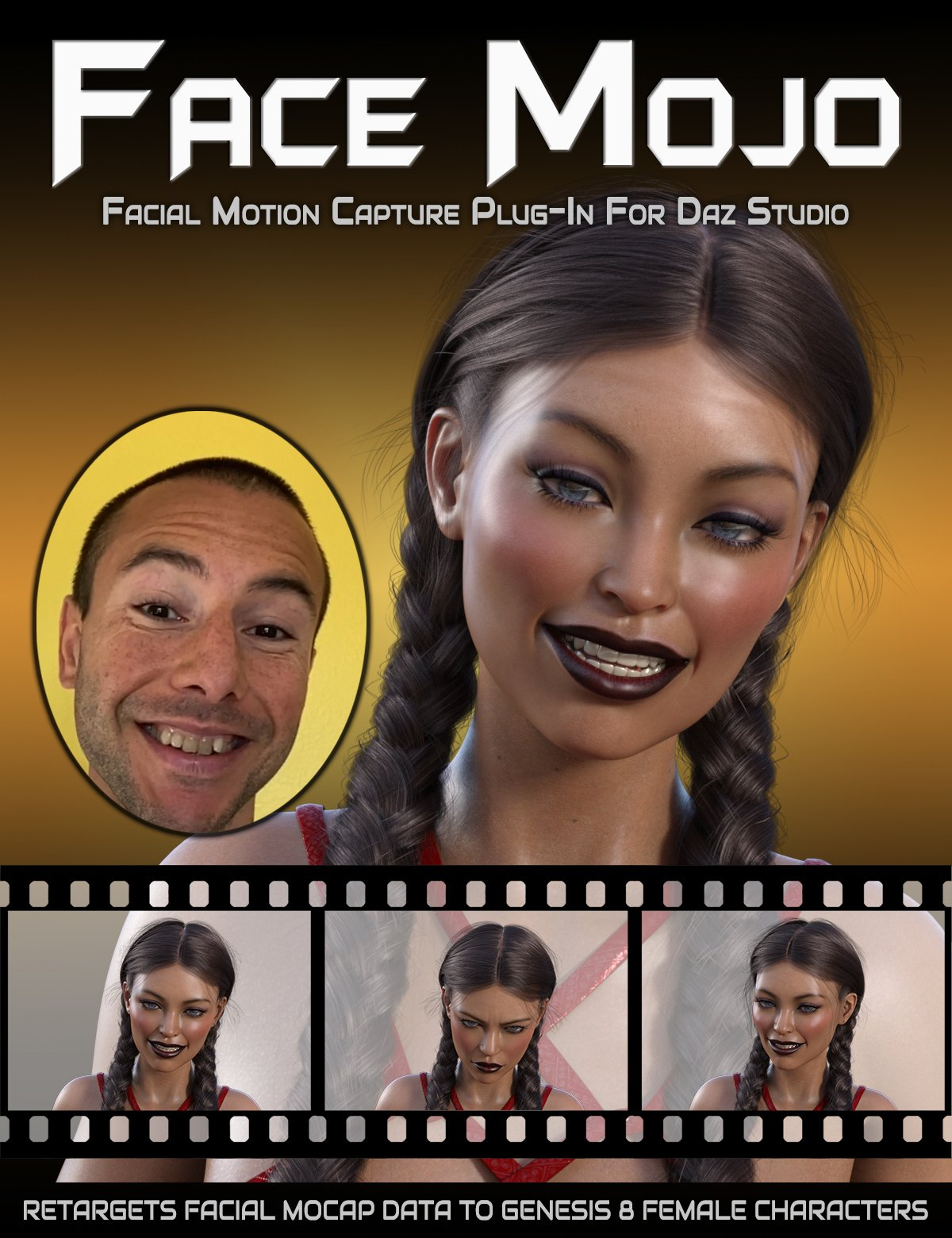 Face Mojo - Facial MoCap Retargeting for Genesis 8 Females by: LayLo 3D, 3D Models by Daz 3D