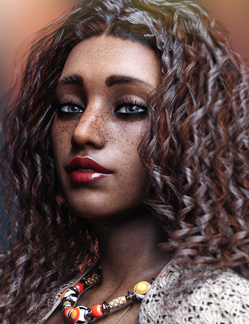 Aiisha HD For Genesis 8 Female by: Colm Jackson, 3D Models by Daz 3D