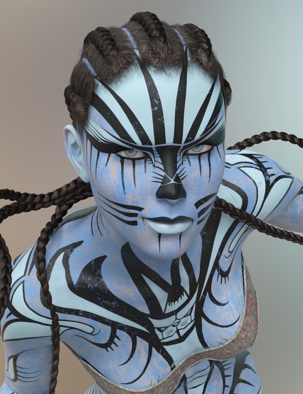 Rhiain for Genesis 8 Female by: Dax Avalange , 3D Models by Daz 3D