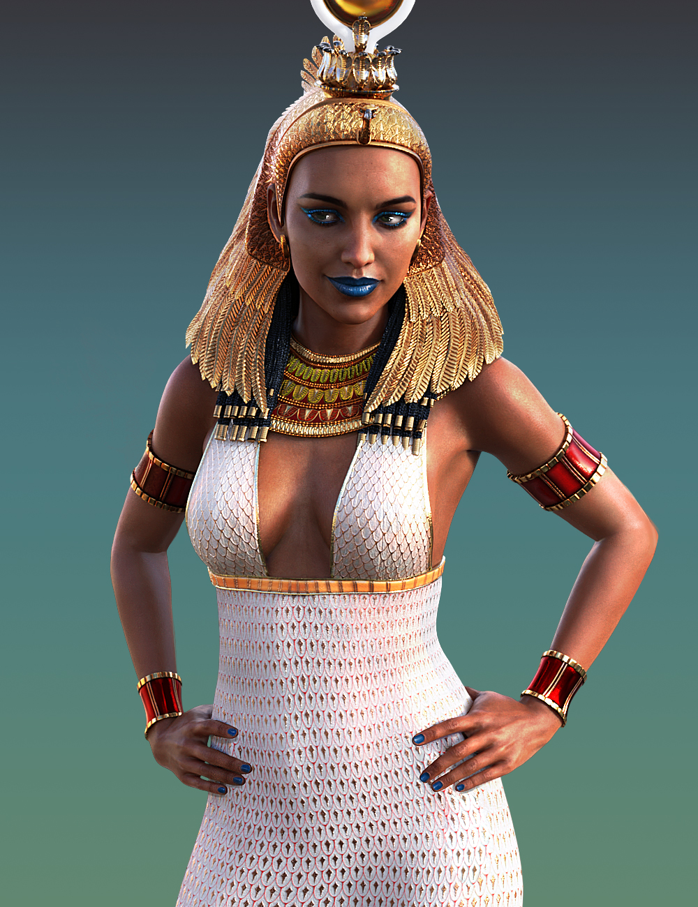 Pharaoh Animations for Genesis 8 Female and Twosret 8 by: ThreeDigital, 3D Models by Daz 3D
