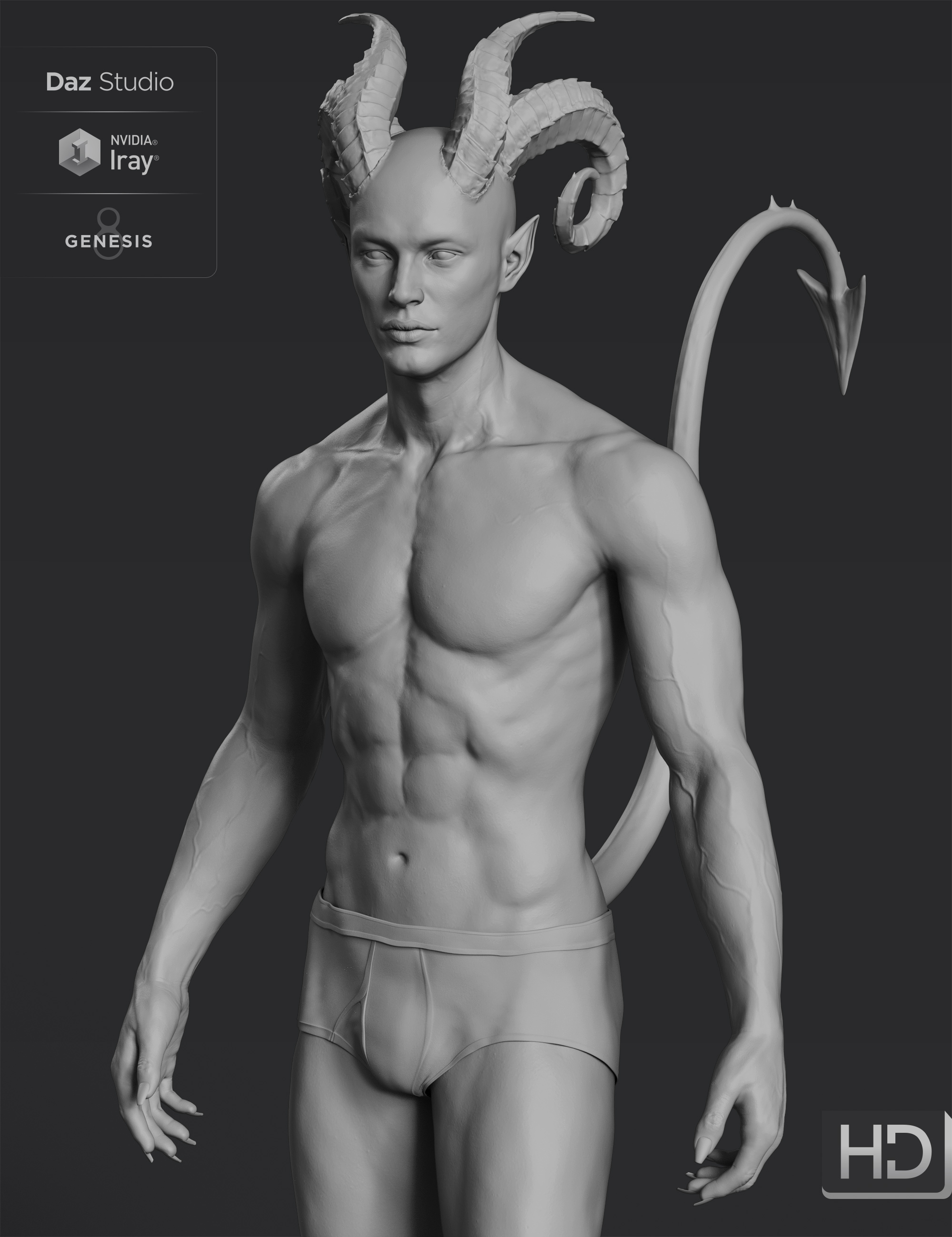 Torment 8.1 HD Add-On by: , 3D Models by Daz 3D