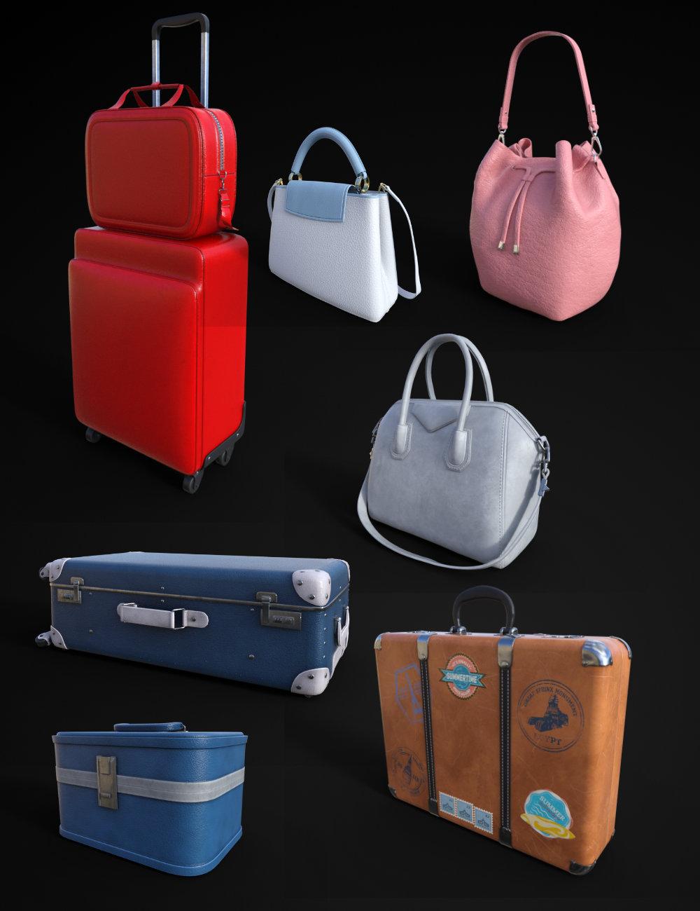 FG Luggage by: Fugazi1968Ironman, 3D Models by Daz 3D