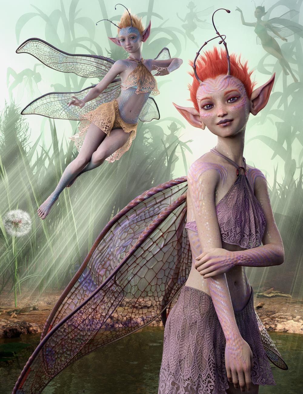 Orla Fae for Genesis 8 Female by: WillDupreMAB, 3D Models by Daz 3D
