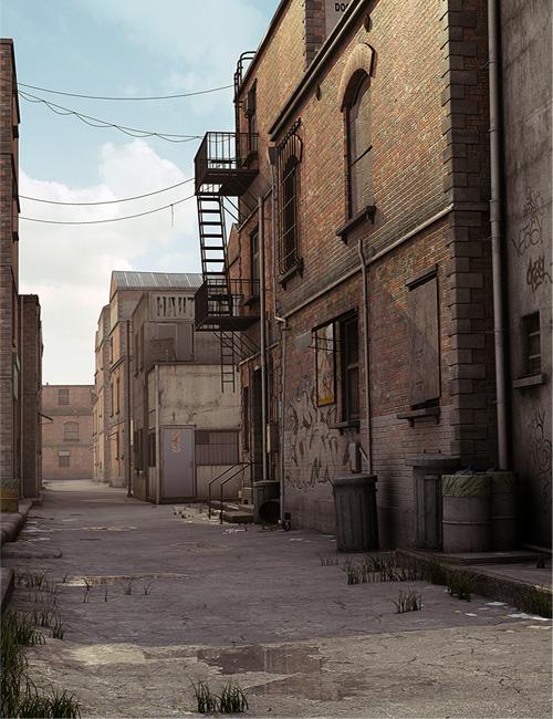 Tin Pan Alley by: Stonemason, 3D Models by Daz 3D