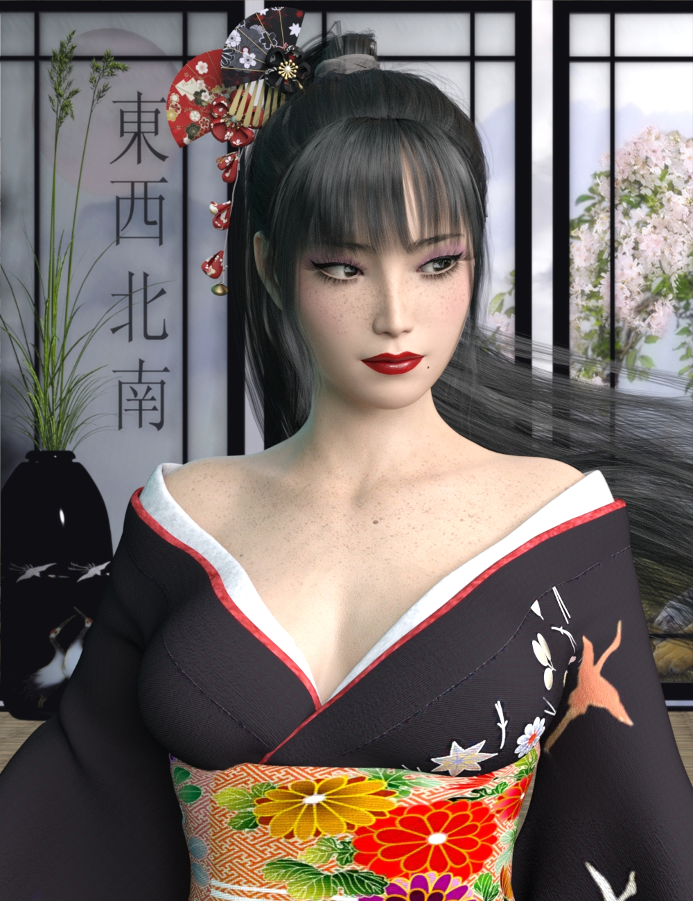 Kaoruko for Genesis 8 Female by: Tsukikawa, 3D Models by Daz 3D