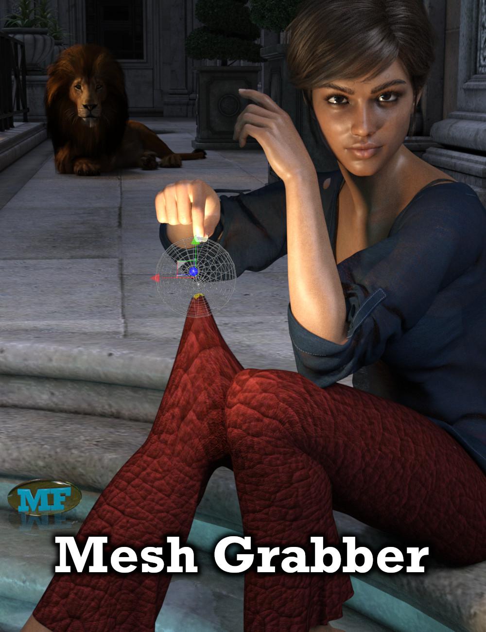 Mesh Grabber (Mac) by: ManFriday, 3D Models by Daz 3D