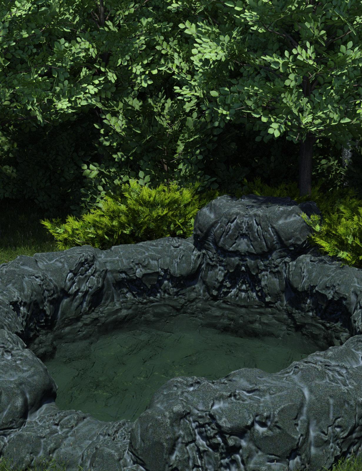 Beesagul Well HD by: Oskarsson, 3D Models by Daz 3D