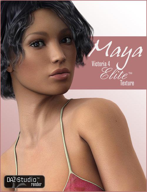 V4 Elite Texture: Maya by: -Yannek-, 3D Models by Daz 3D