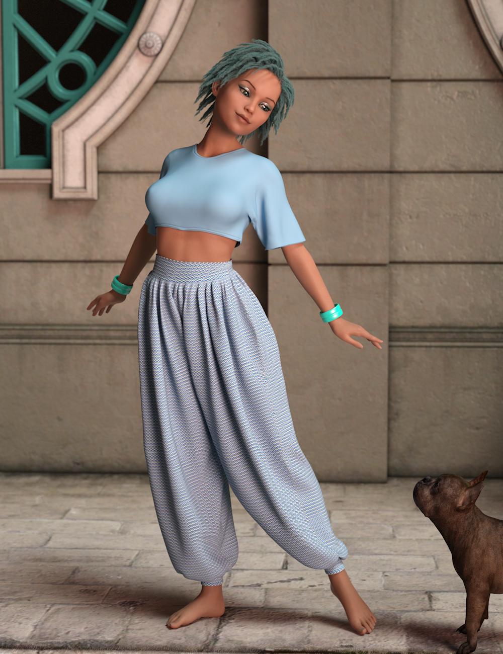 AQ Lulu for Genesis 8 Female by: Aquarius, 3D Models by Daz 3D