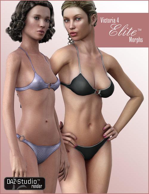 V4 Elite Body Shapes by: , 3D Models by Daz 3D