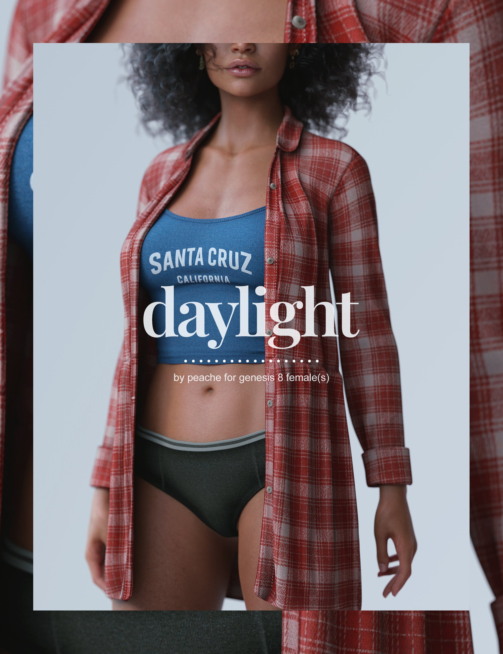 dForce Daylight Outfit for Genesis 8 Females by: peache, 3D Models by Daz 3D