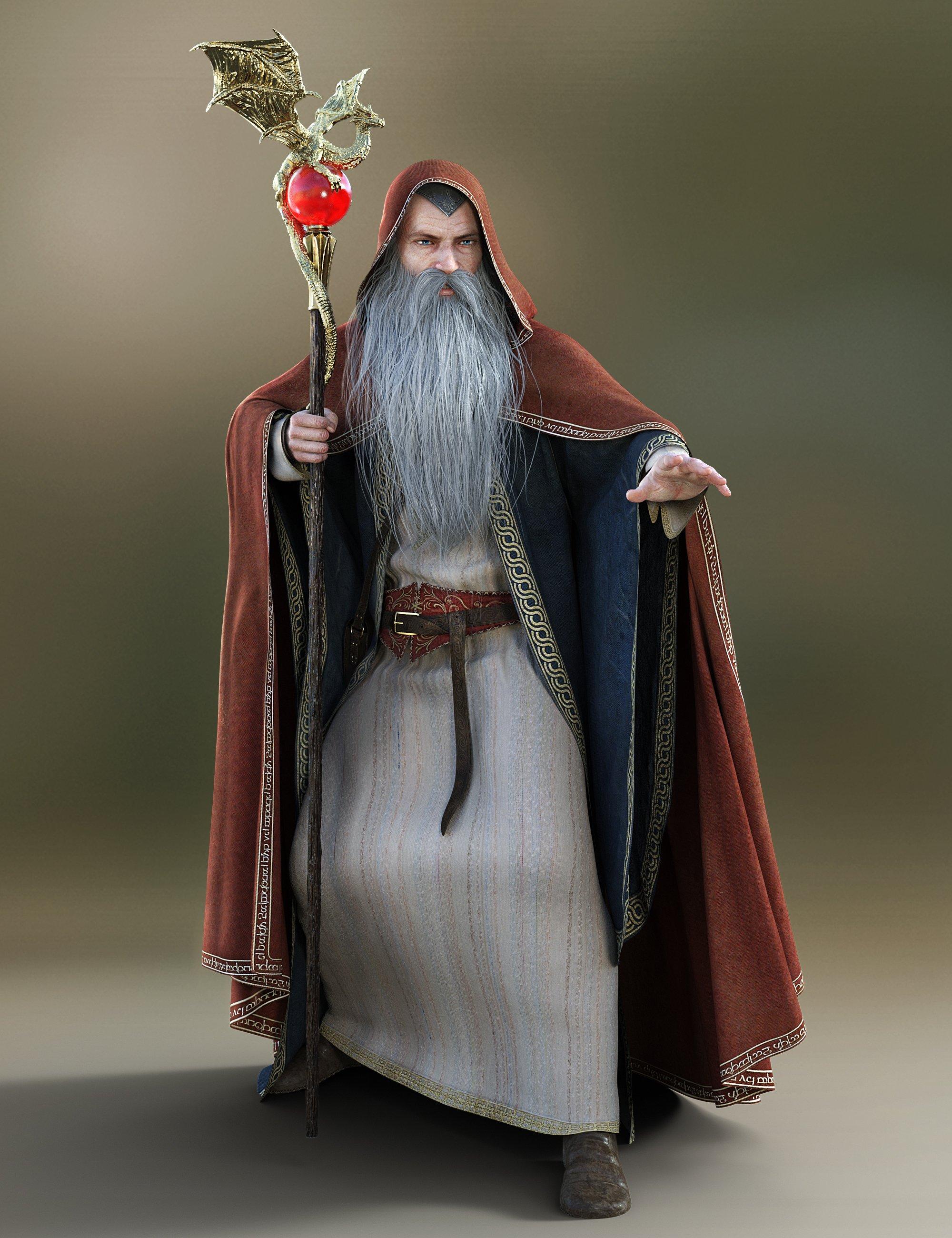 Magic Spell Caster Animations for Genesis 8 by: ThreeDigital, 3D Models by Daz 3D