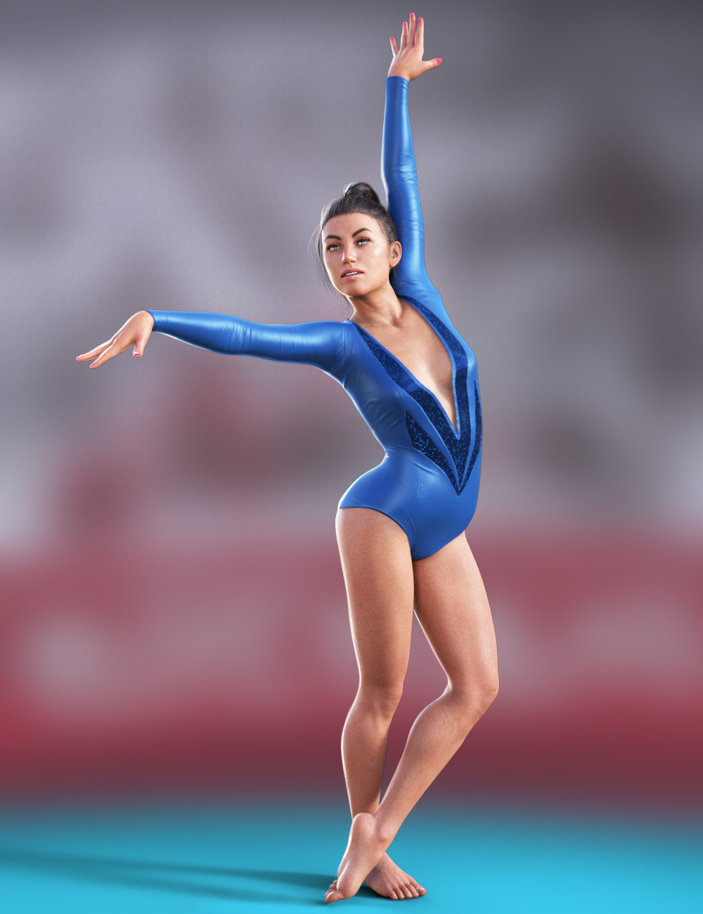 Gymnastic Animations for Genesis 8 by: ThreeDigital, 3D Models by Daz 3D