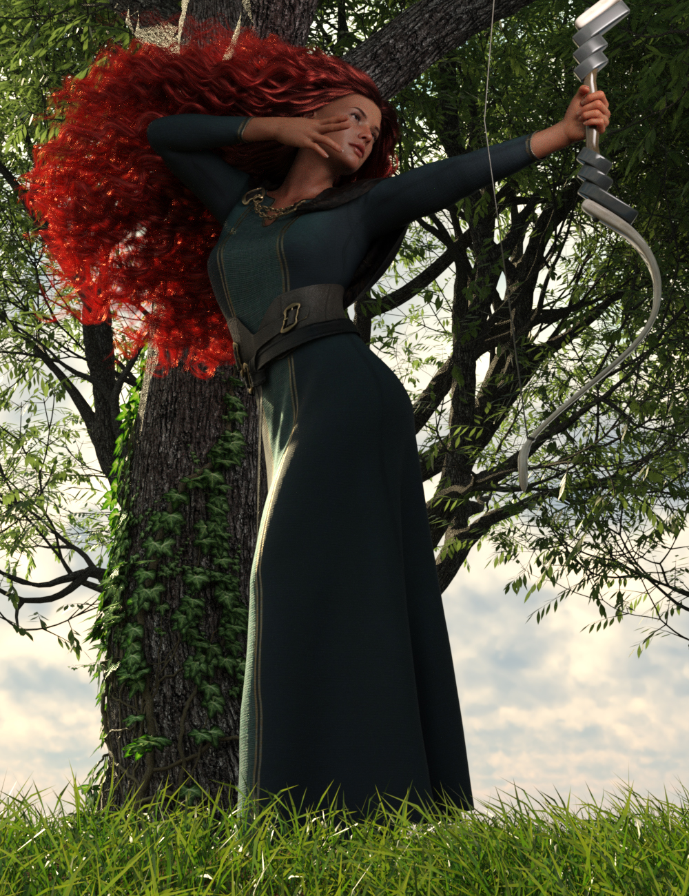 Inspired Poses For Genesis 8 and 8.1 Female by: Ensary, 3D Models by Daz 3D