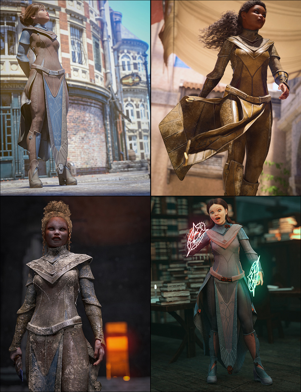 The Hands-On Historian Fantasy Styles for Ekialys' Ny by: Aeon Soul, 3D Models by Daz 3D