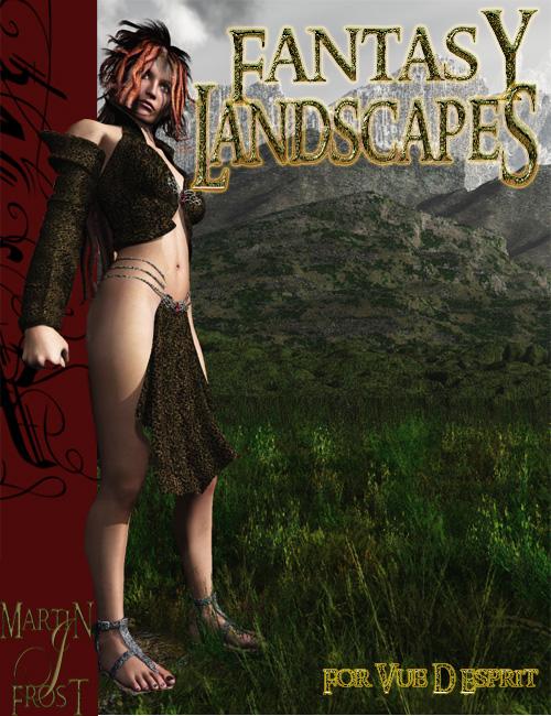 Fantasy Landscapes Mega Pack For Vue D Esprit by: MartinJFrost, 3D Models by Daz 3D
