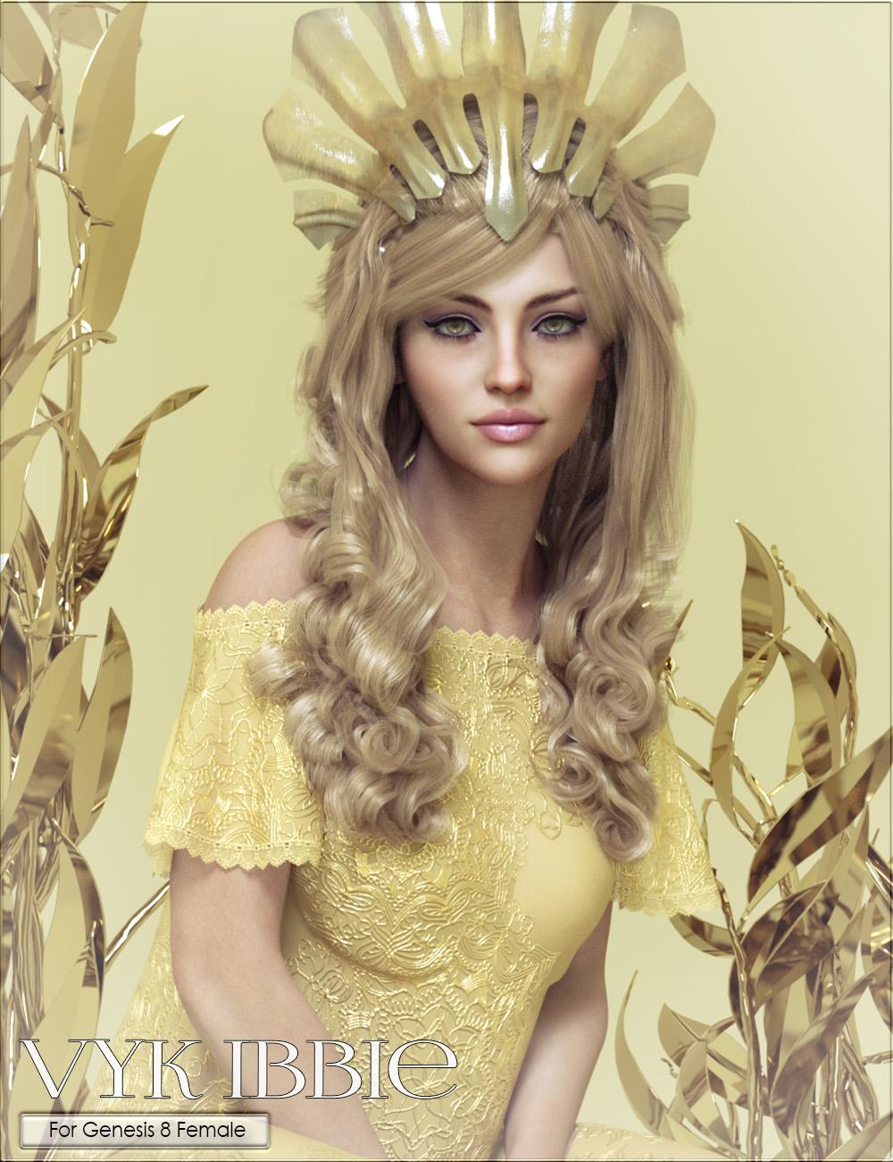 VYK Ibbie for Genesis 8 Female by: vyktohria, 3D Models by Daz 3D