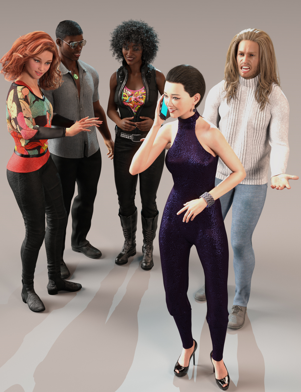 Everyday Motion by: , 3D Models by Daz 3D