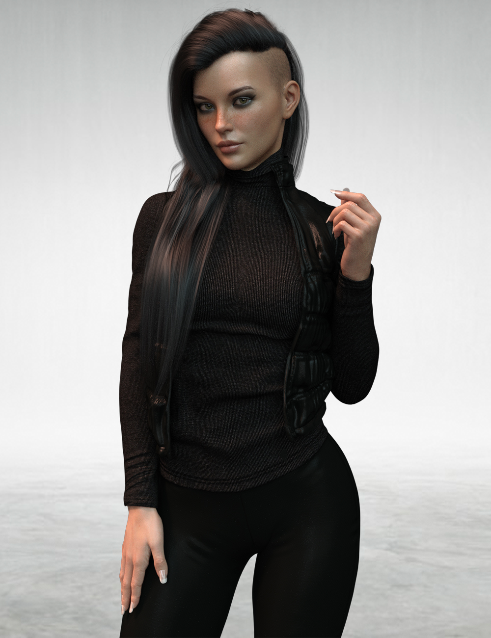 X-Fashion Autumn Winter Outfit for Genesis 8 Females by: xtrart-3d, 3D Models by Daz 3D