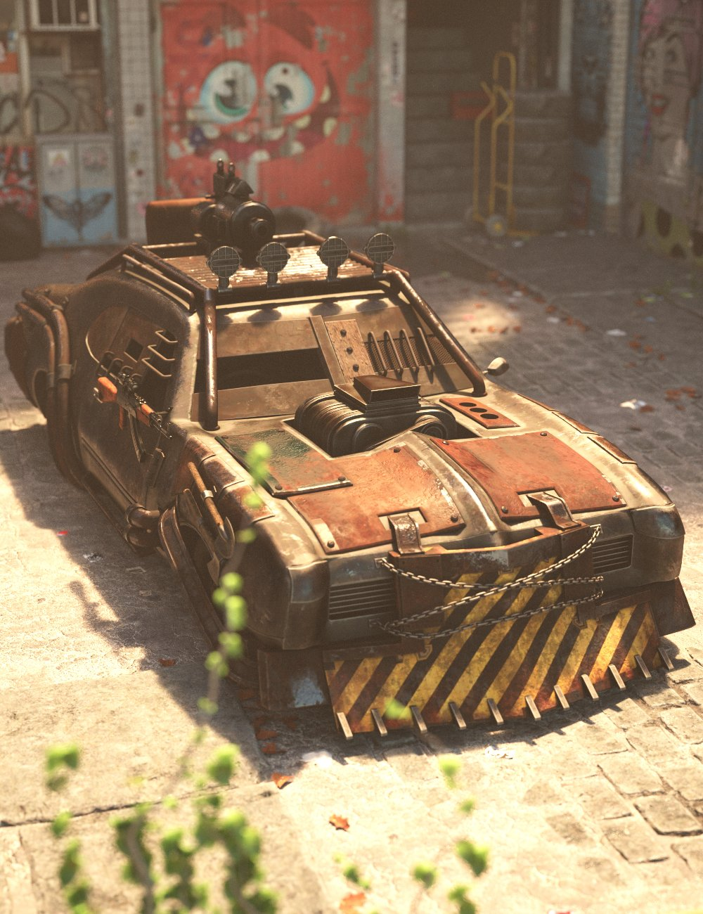 Zombie Apocalypse Vehicle by: Charlie, 3D Models by Daz 3D