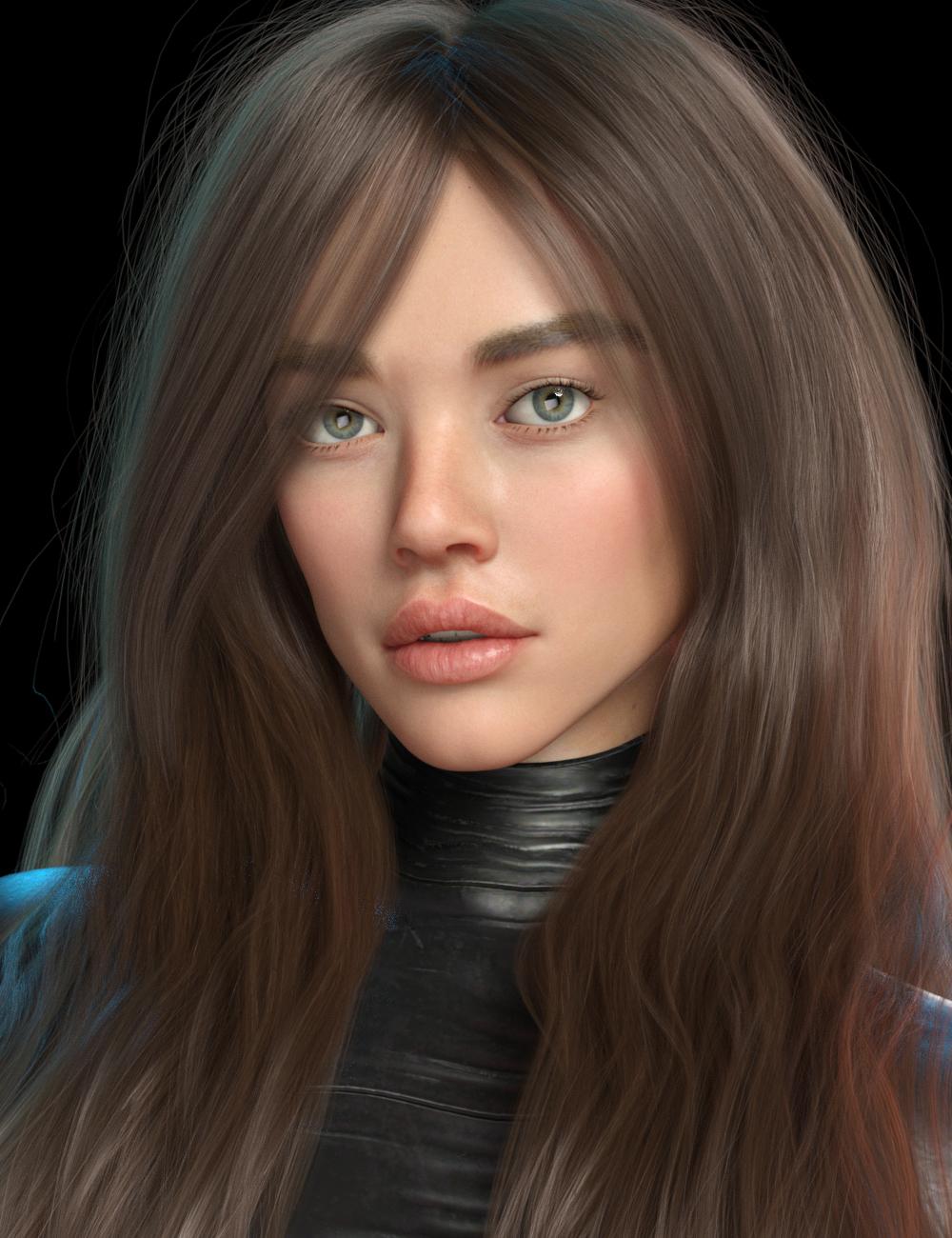 Blue HD for Genesis 8 Female by: Mousso, 3D Models by Daz 3D