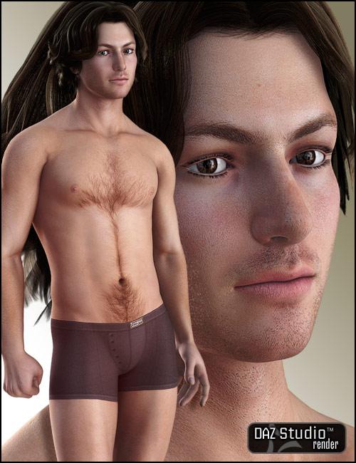 Michael 4 Base by: , 3D Models by Daz 3D