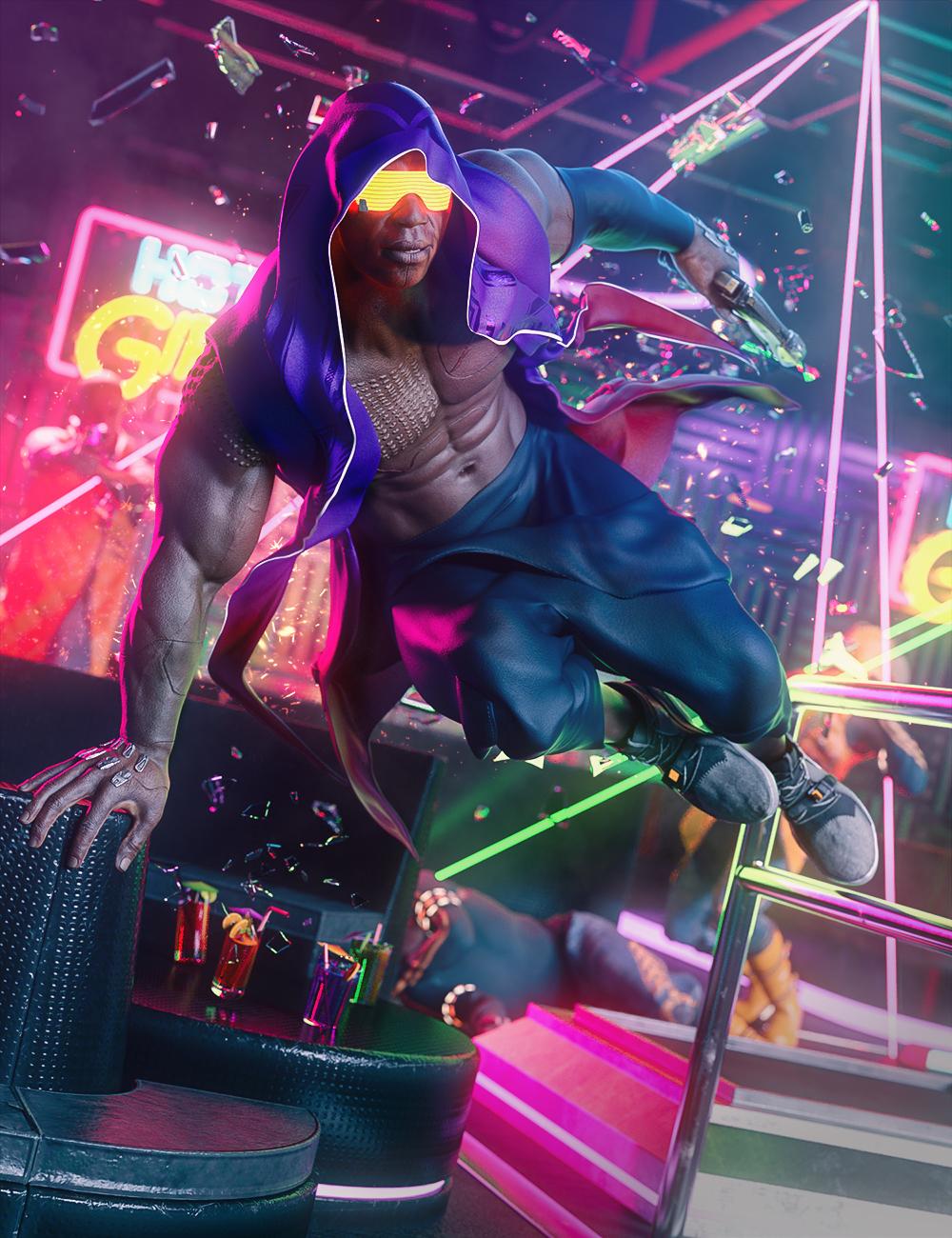 Niko 8 Cyber Funk Bundle by: , 3D Models by Daz 3D