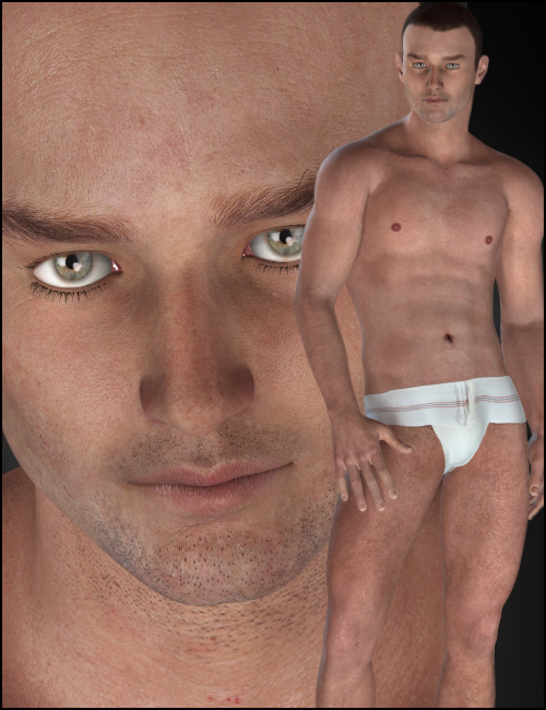 Aaron for M4 by: Morris, 3D Models by Daz 3D