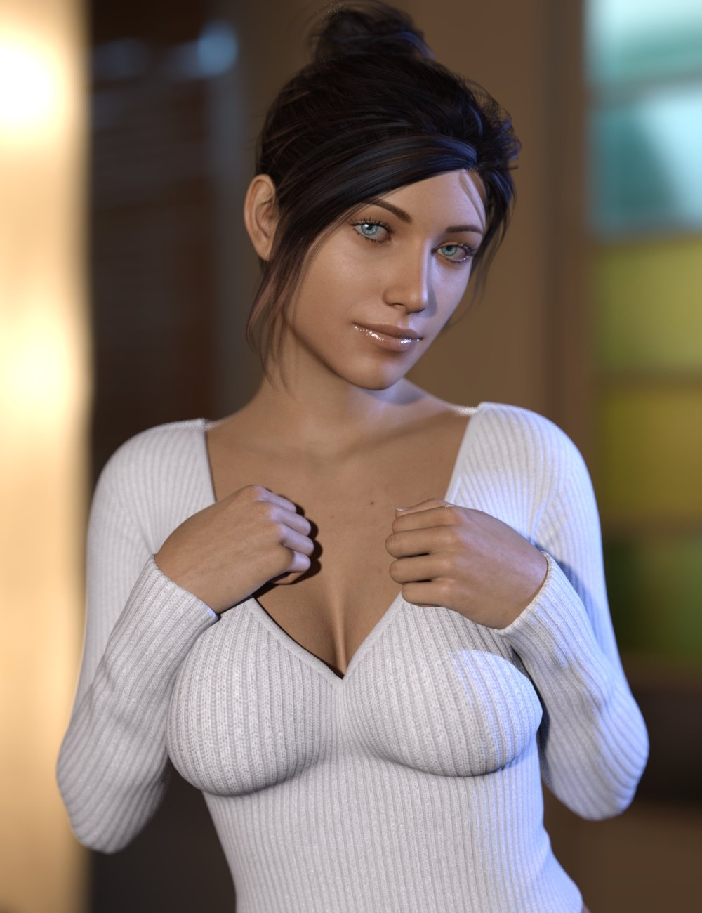 dForce Soft Breast for Genesis 8 Females by: iWave, 3D Models by Daz 3D