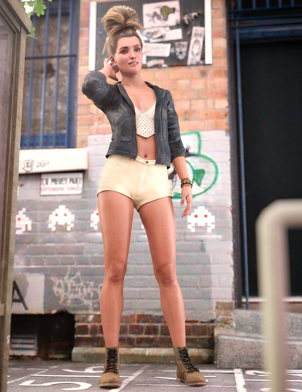 Summers End Outfit for Genesis 8.1 Females by: Arien, 3D Models by Daz 3D