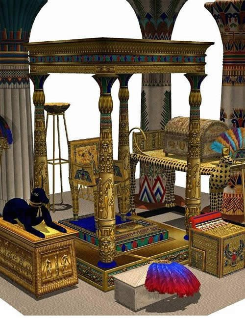 Treasures of Egypt by: , 3D Models by Daz 3D