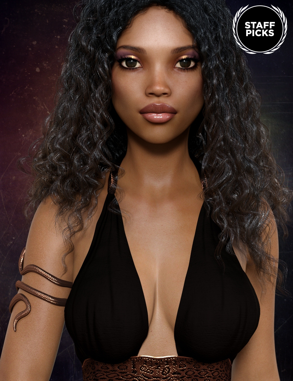Keyana for Genesis 8 Female by: Handspan Studios, 3D Models by Daz 3D