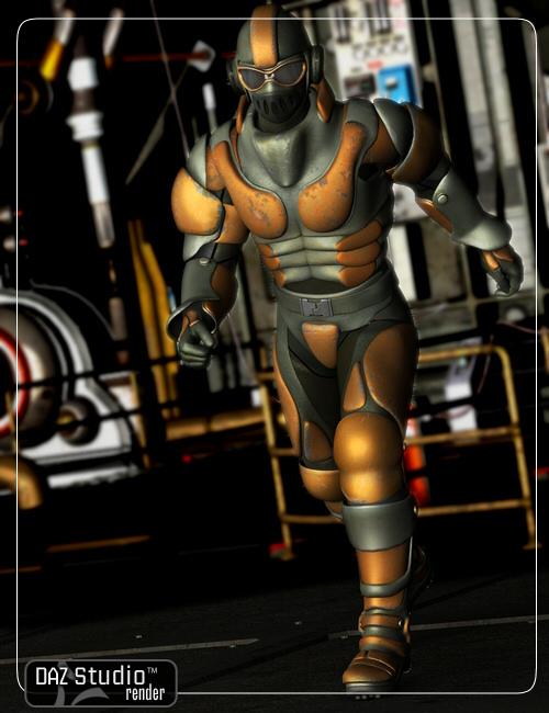 Epsilon for Michael 4 by: Lourdes, 3D Models by Daz 3D