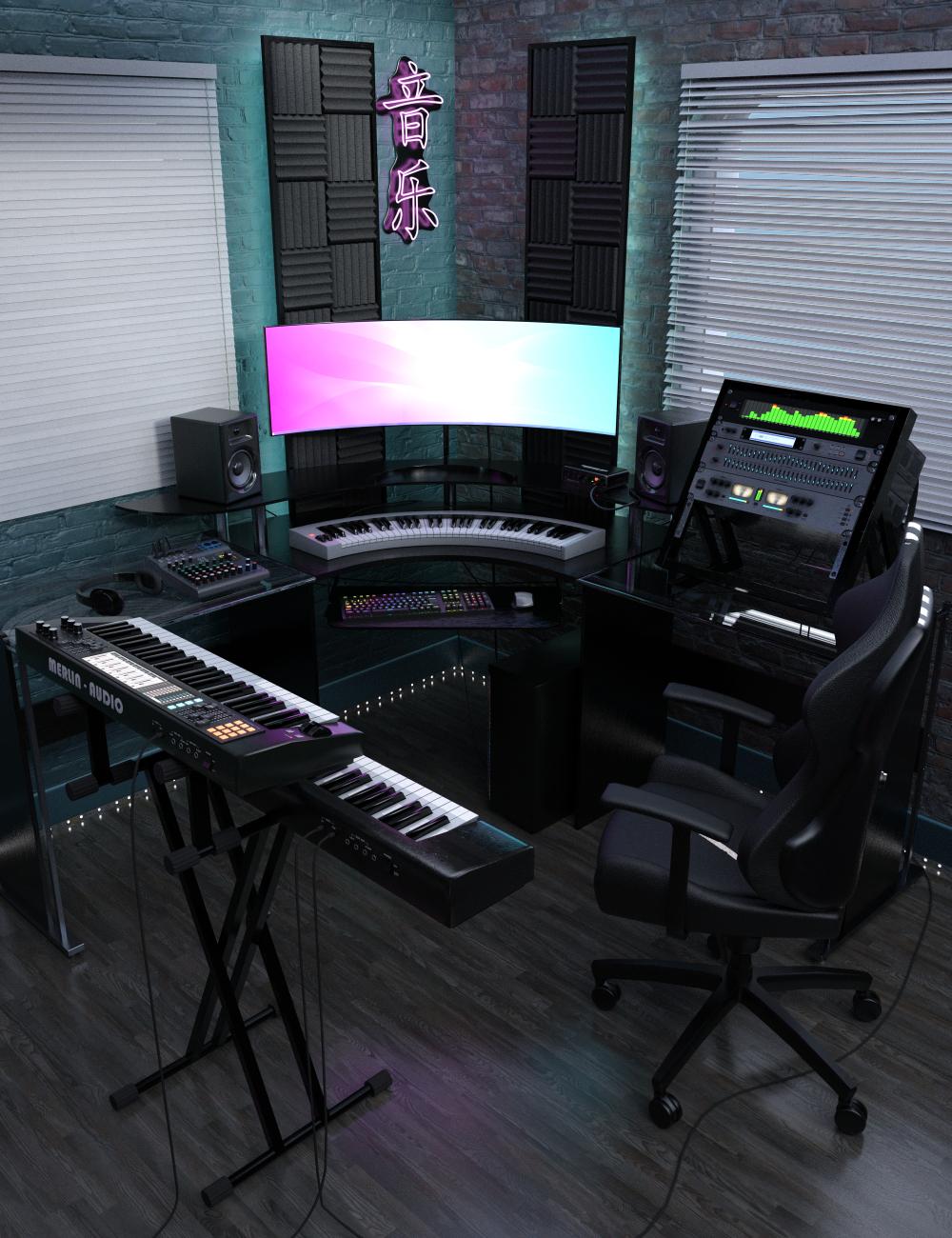 Cyber Studio by: Merlin Studios, 3D Models by Daz 3D