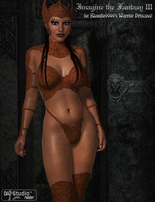 Imagine the Fantasy III for Classic Fantasy Warrior Princess by: Morris, 3D Models by Daz 3D