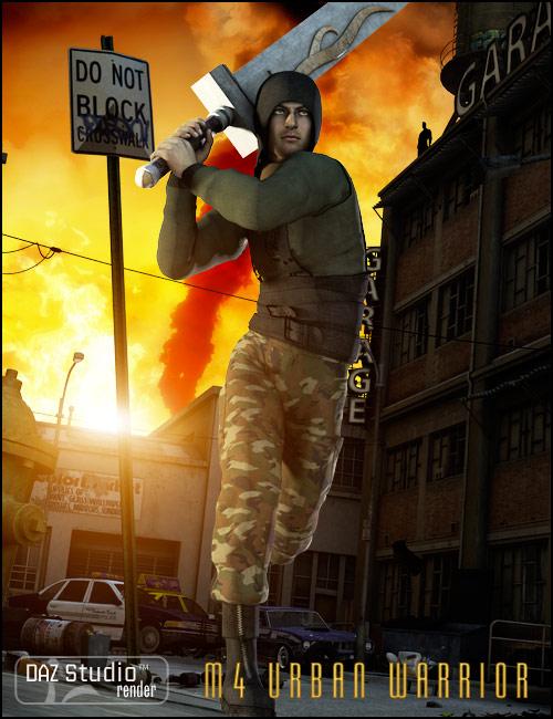 Urban Warrior by: Xena, 3D Models by Daz 3D
