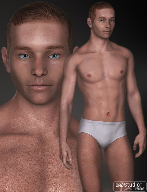 Beck for M4 by: Morris, 3D Models by Daz 3D