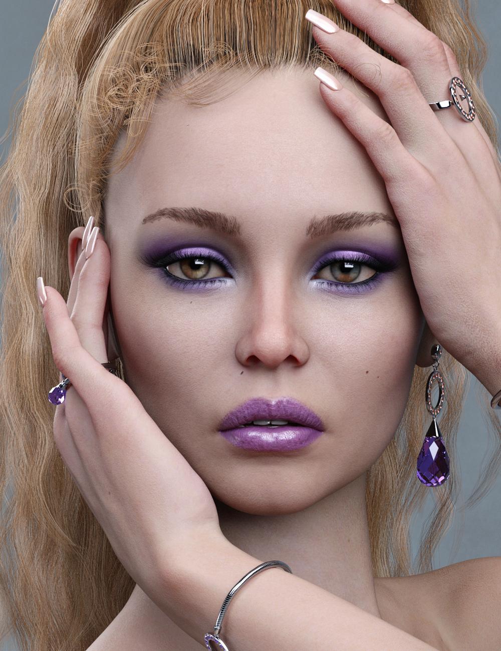 Eileen HD for Genesis 8 Female by: Emrys, 3D Models by Daz 3D