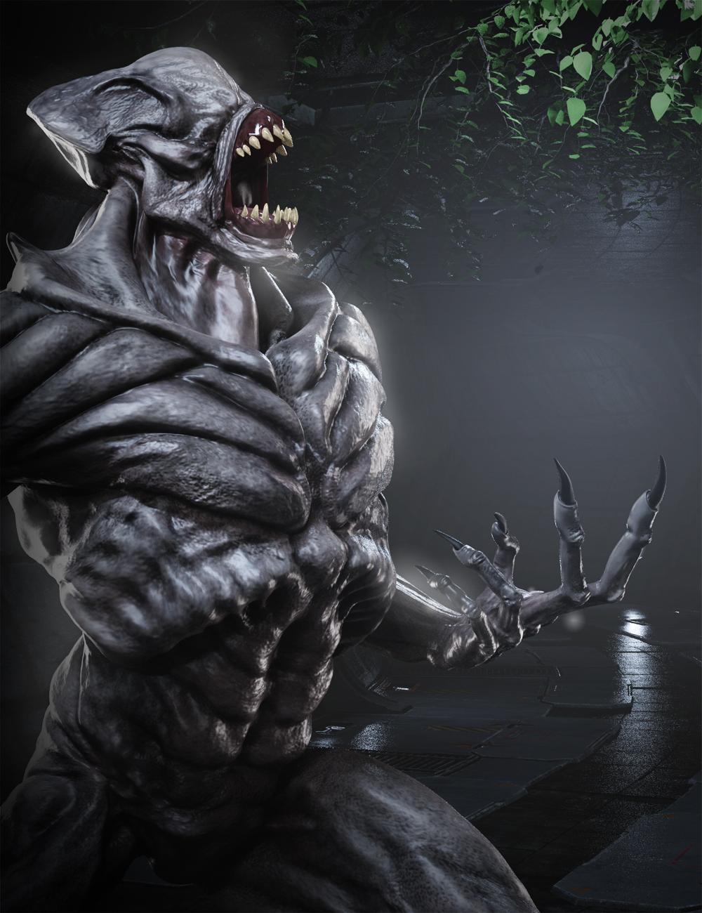 Doom Demon HD for Genesis 8 Male by: Josh Crockett, 3D Models by Daz 3D