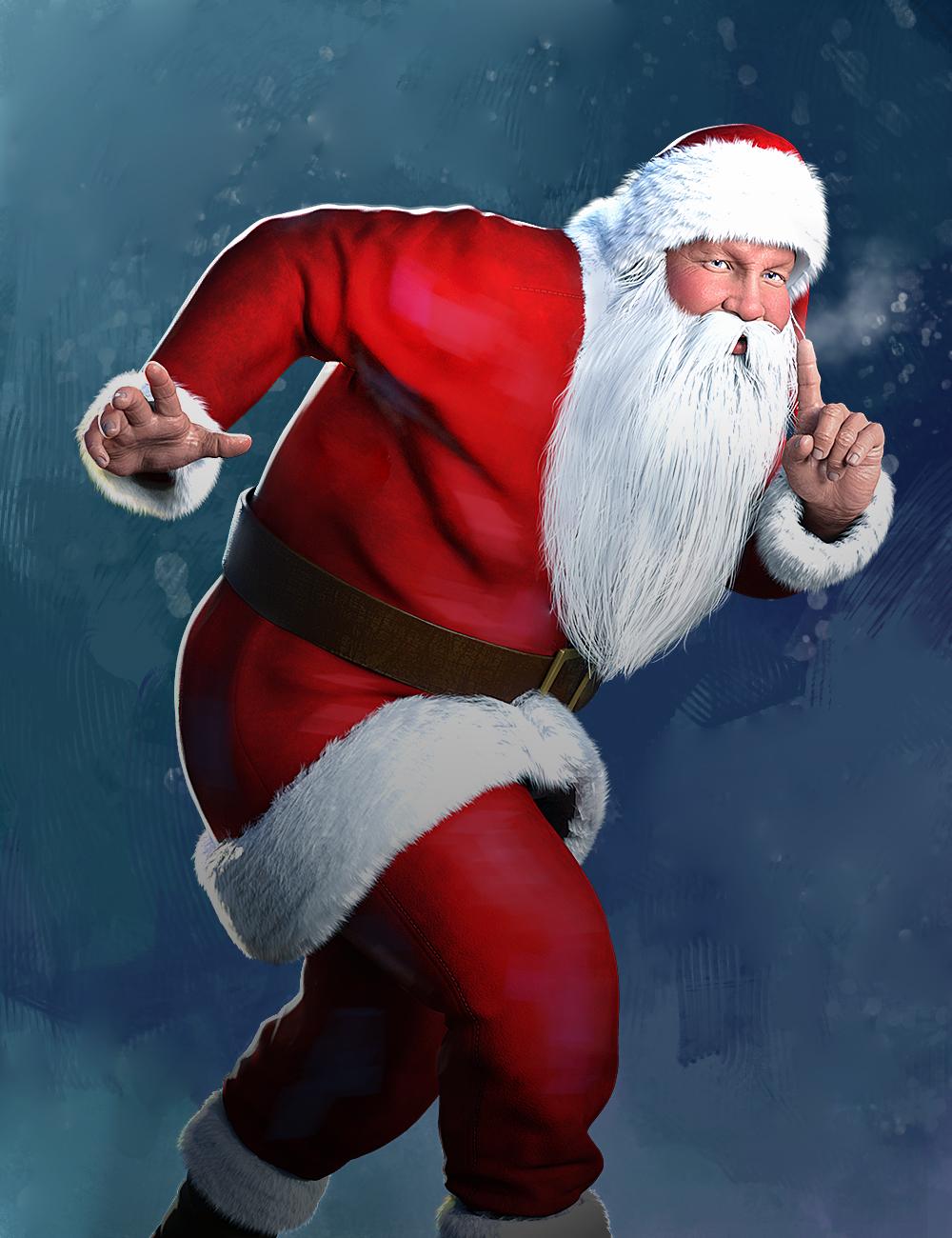 Santa Laughing Animation for Genesis 8 Males by: ThreeDigital, 3D Models by Daz 3D
