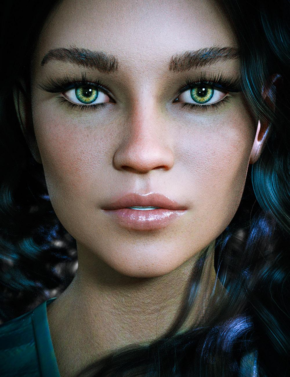 CB Bexley HD For Genesis 8 Female by: CynderBlue, 3D Models by Daz 3D