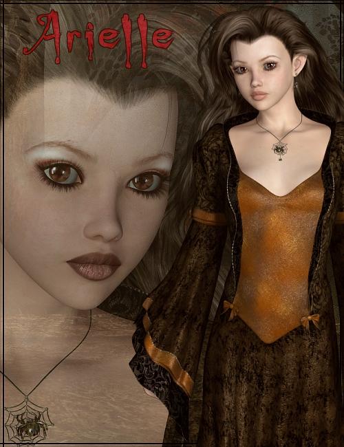 Arielle by: ThorneSarsaMada, 3D Models by Daz 3D