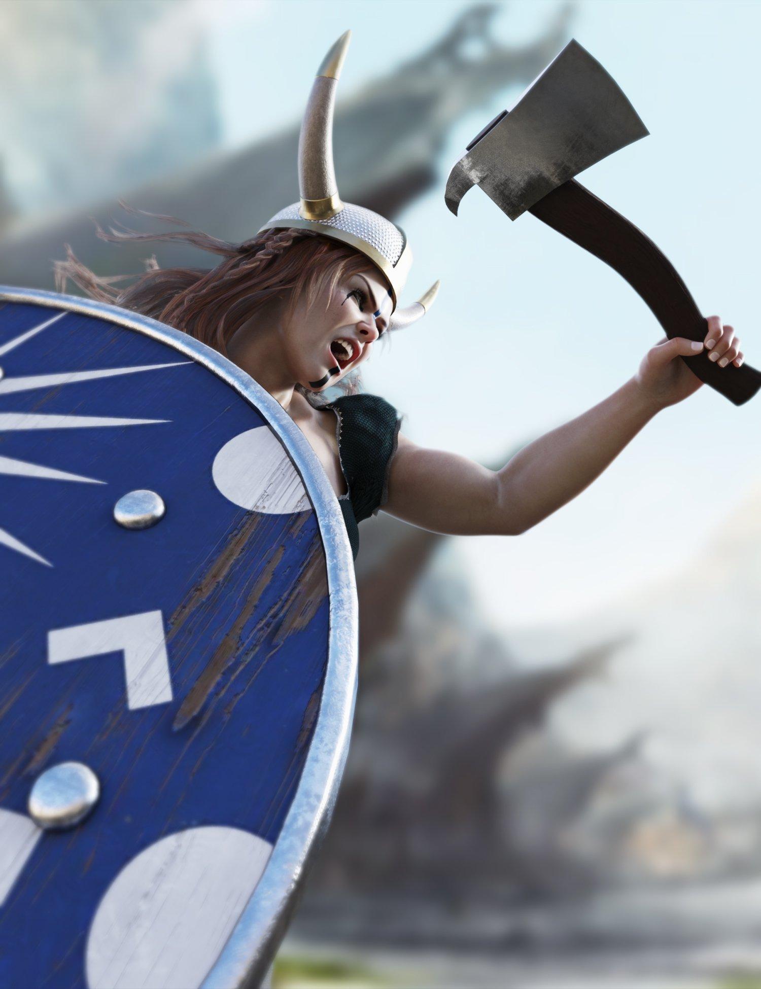 Viking Props by: Neikdian, 3D Models by Daz 3D