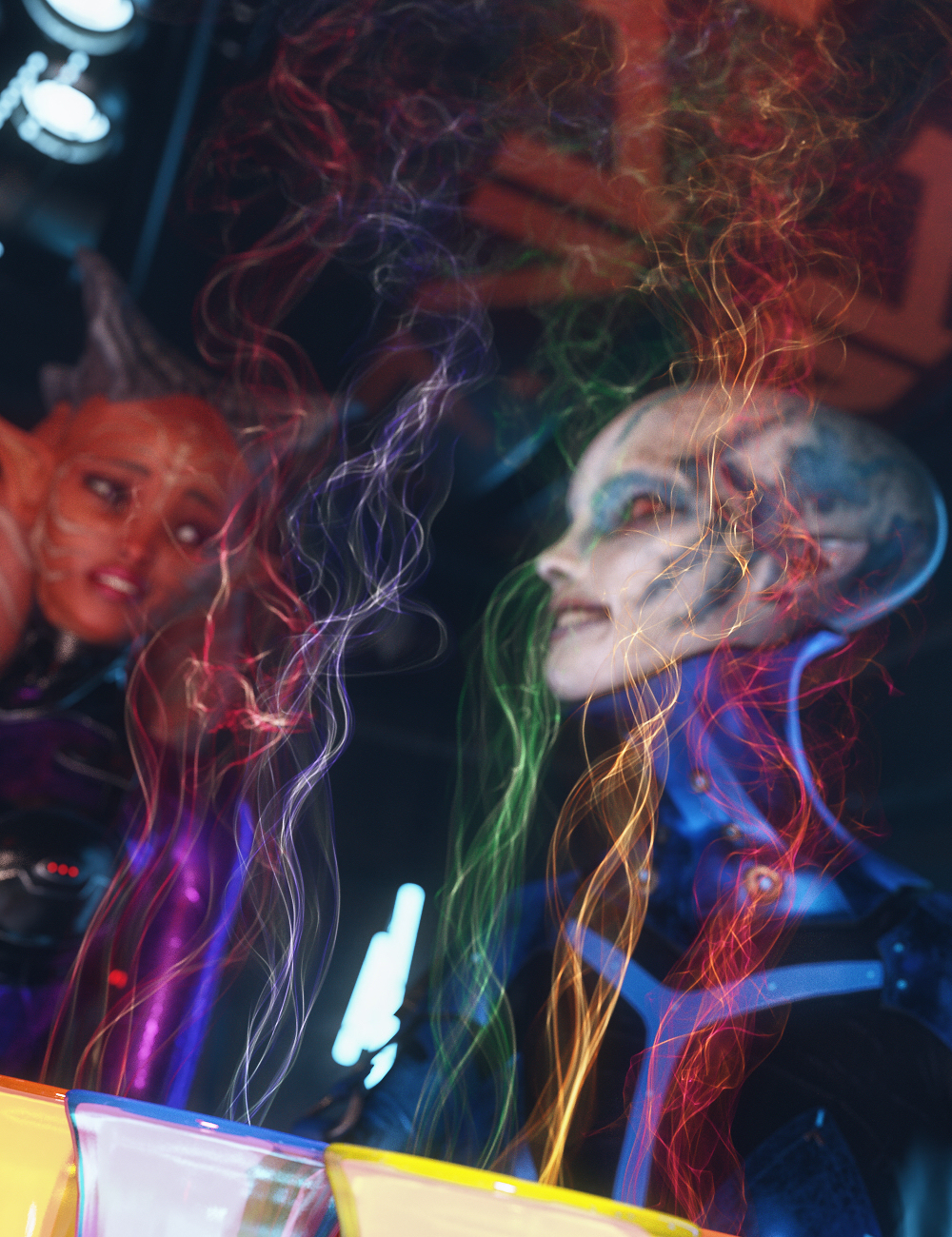 MMX Smoke Trails 3 for Iray by: Mattymanx, 3D Models by Daz 3D