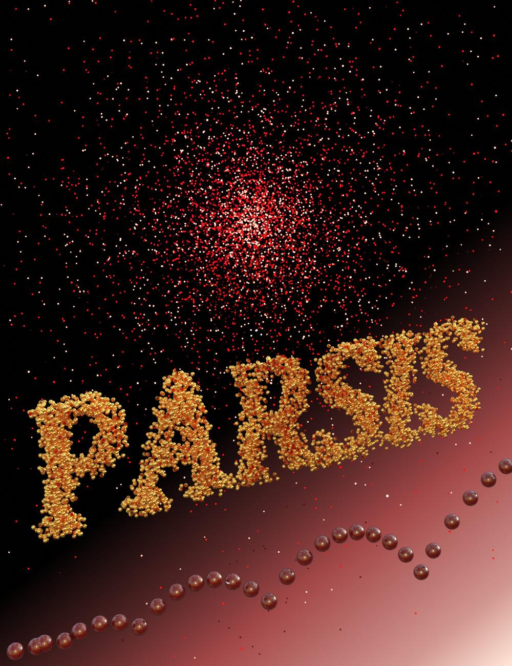 PARSIS: A Particles System by: Alvin Bemar, 3D Models by Daz 3D